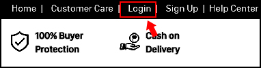 How to Log-in as a Customer